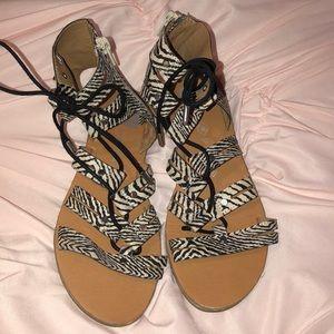 Dolce Vita Zebra Print Sandals